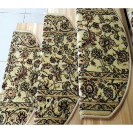 Бежевые коврики Алибаба на домашнюю деревянную лестницу.