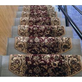 Бордовые коврики Алибаба на домашнюю деревянную лестницу.
