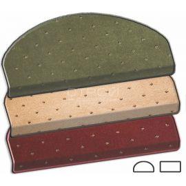 Накладки на ступеньки ковровые — Барс. Цвета: слоновая кость, красный, зеленый.