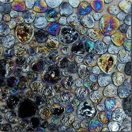 Drops Dr06 черная мозаика каплями