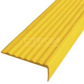 Желтый резиновый порожек Next У55 против скольжения размером 12,5 м х 5,5 см.
