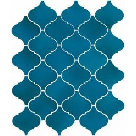 65007 плитка настенная Арабески Майолика синий 26х30 см завода Kerama Marazzi.