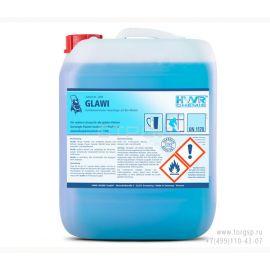 Очиститель стекол и зеркал Glawi (Глави) - высококонцентрированный концентрат для чистки  с био-спиртом.