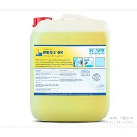 Средство для мойки двигателя Monil-ER - высококонцентрированный промышленный очиститель масел, сажи, копоти.