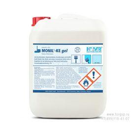 Очиститель краски и лака MONIL-KE гель - вязкое средство без запаха снимающее финишные покрытия с поверхностей не повреждая их.