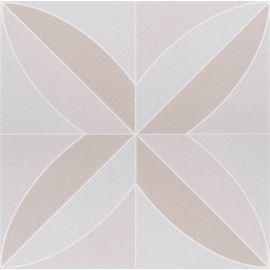 Плитка Flora marron Decocer 20x20 см с матовой поверхностью