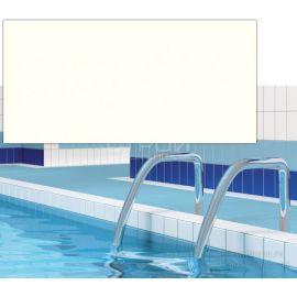 Матовая плитка Атланта белый 12х24,5 в чашу бассейна