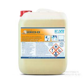 Средство для удаления запаха Geruch-EX для нейтрализации запахов и дезодорирования.