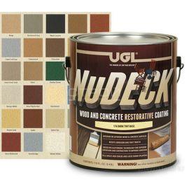 Восстанавливающая краска для дерева на водной основе для деревянных и бетонных поверхностей.