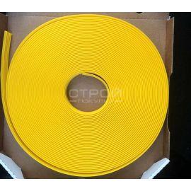 Желтая SS-Next П29 Самоклеящаяса резиновая тактильная противоскользящая полоса 29мм 25м