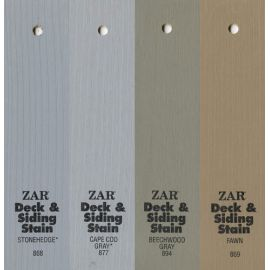 Оттенки Solid Color Deck & Siding Stain