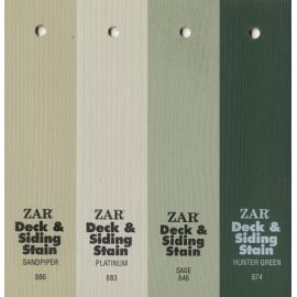 Зеленые оттенки масла Solid Color Deck & Siding Stain