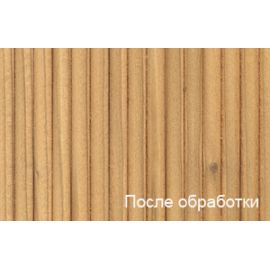 после нанесения Clear Wood Sealer