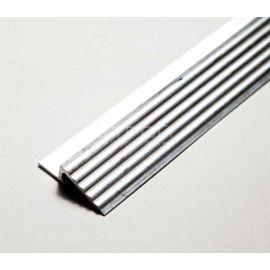 Алюминиевый профиль порог без модульного грязезащитного покрытия