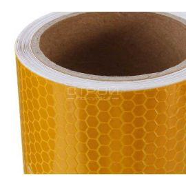 Световозвращающая лента DOT желтого цвета