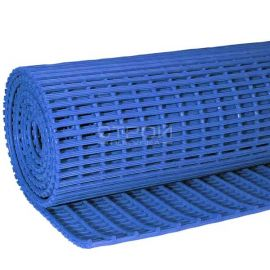 Синее рулонное противоскользящее покрытие