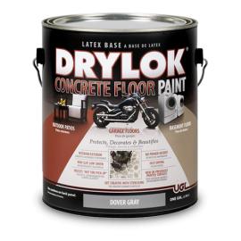 Краска для бетонных-гаражных полов на латексной основе
