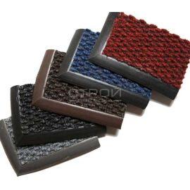 Цветные ворсовые грязезащитные покрытия