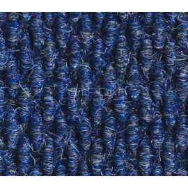 Синие ворсовые грязезащитные покрытия