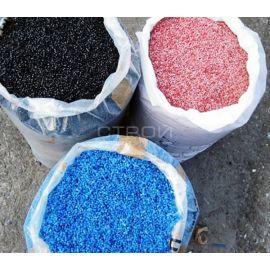 Цветная крошка - компонент xолодного дорожного пластика