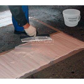 Холодный дорожный пластик для создания противоскользящего покрытия