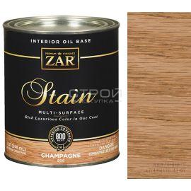 508 Champagne Zar Stain тонирующее масло для дерева