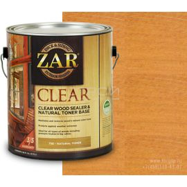 Бесцветное палубное масло по дереву Autumn Chestnut ZAR® Clear Wood Sealer & Natural Toner Base