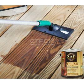 Бесцветное палубное масло по дереву ZAR® Clear Wood Sealer & Natural Toner Base