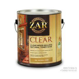 Бесцветное палубное масло по дереву ZAR® Clear Wood Sealer & Natural Toner Base в магазине СтройПокупка
