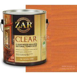 Бесцветное палубное масло по дереву Golden Wheat  ZAR® Clear Wood Sealer & Natural Toner Base в магазине СтройПокупка