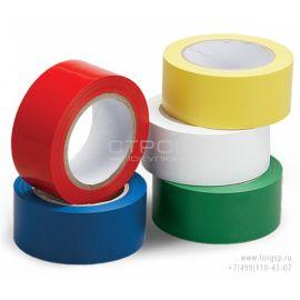 Желтая, белая, красная, синяя, зеленая ленты ПВХ для разметки и маркировки.