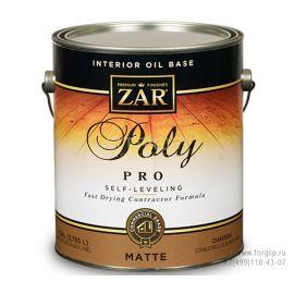 Быстросохнущий профессиональный полиуретановый лак для внутренних работ Interior Oil Base Poly PRO