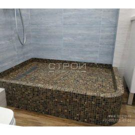 Мозаика из полированного камня KG-01P в интерьере