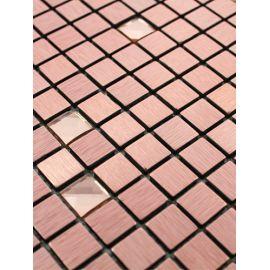 LP05E розовая мозаика из алюминия