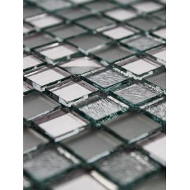 Микс A1501 из серебряной зеркальной мозаики