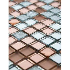 Микс A1504 из зеркальных чипов мозаики