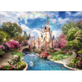3D Фотообои Замок Дисней для детской