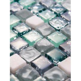GS095B мозаика 15х15 мм колотый лед