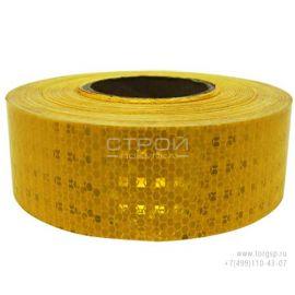 Отражающая лента для грузовиков желтая SafetyStep