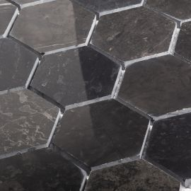 Мозаика Hexagon VBsP 64X74 Wild Stone из натурального мрамораМозаика Hexagon VBsP 64X74 Wild Stone из натурального мрамора