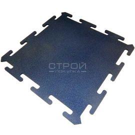 Синяя плитка Puzzle Standart из резиновой крошки