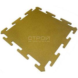 Желтая плитка Puzzle Standart из резиновой крошки