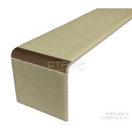 Фотолюминесцентная боковая накладка маркер на ступень из алюминия ALLS-50L-G300