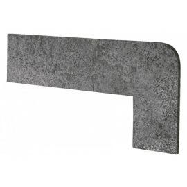Угловой плинтус правый Opera Iron 42.3х17,5 см