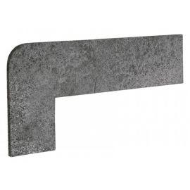 Угловой плинтус левый Opera Iron 42.3х17,5 см
