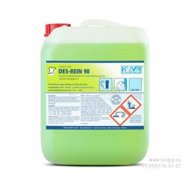 Дезинфицирующее щелочное моющее средство Дез-Рейн 90 - моющее дезинфицирующее средство широкого спектра действия.