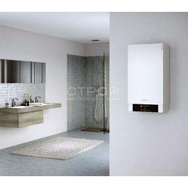 Настенный газовый конденсационный котел Viessmann Vitodens 200-W B2HA от 12 до 150 кВт в интерьере ванны.