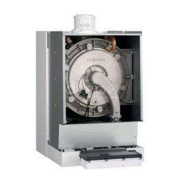 Схема расположения элементов настенного газового конденсационного котла Viessmann Vitodens 200-W B2HA от 12 до 150 кВт.