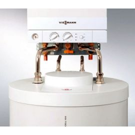 Соединение котла Vitopend 100-W A1HB 24 кВт  с бойлером Vitocell 100-W CUGA 100 литров.