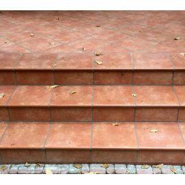 Плитка напольная Interbau Alpen 059 Красная глина 310x310 мм R11/B для крыльца